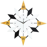 Living Room Large Digital Large Creative Wall Clock Modern Design Bedroom Big Art Wall Clock Silent White Decoration Watch 60C1