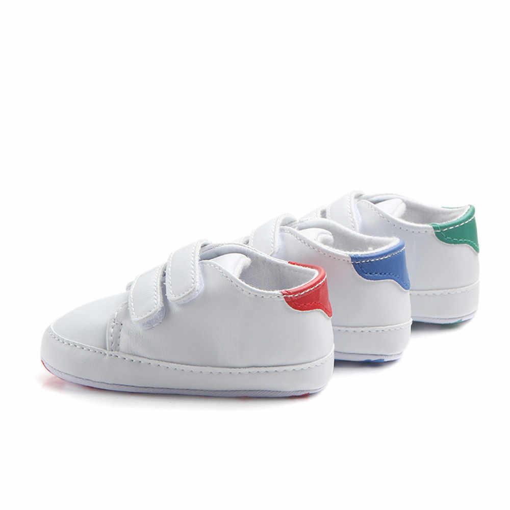 Yürüyor bebek erkek kız yumuşak Sole beşik ayakkabı Sneaker yenidoğan bebek ayakkabısı bebek ayakkabıları çocuklar ilk yürüyüş öğrenme ayakkabı su geçirmez