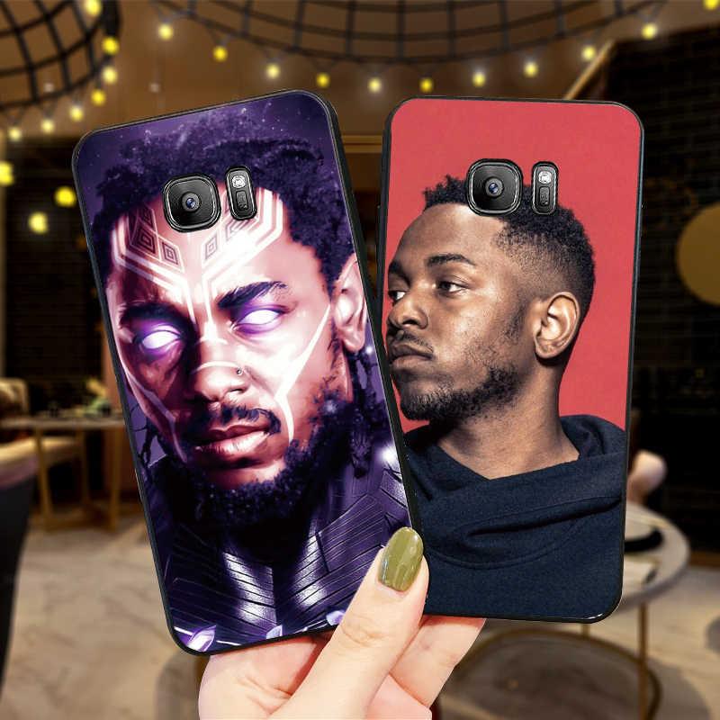 Kendrick Lamar fundas de teléfono móvil para Samsung A5 3 6 7 8 9 10 A10 A20 30 40 50 60 cubierta de silicona suave 70 M40