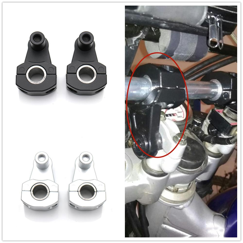 Universal Motorcycle Handlebar Riser 22mm 28mm Bars Clamp handle bar risers For bmw suzuki Ducati ktm Kawasaki free shipping