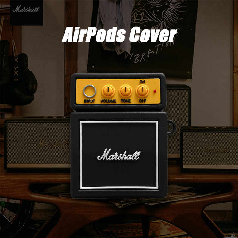 3D イヤホンケース Airpods ための 1/2/3 ケースシリコーンかわいいカバーのためのポッドプロケース earpods ケースヘッドホンストラップ