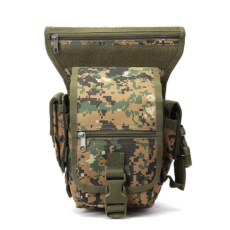 Tactical Leg Men's Multi-functional Outdoor Cycling Waterproof Tied Waist Pannier Bag Outdoor Camping Pack