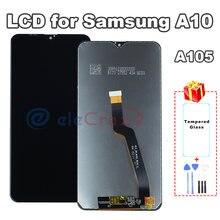 ЖК дисплей с сенсорным дигитайзером в сборе для samsung a10