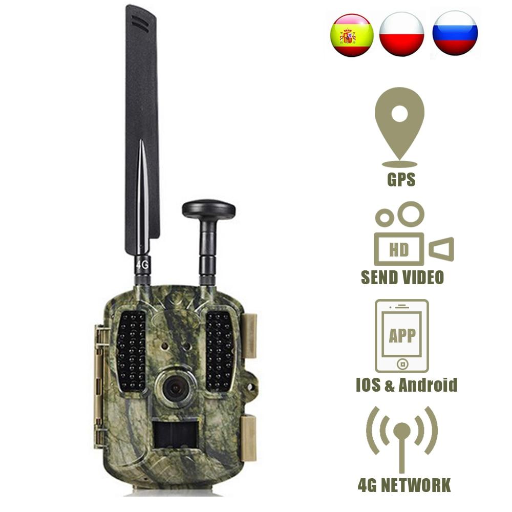Balever 4g caça trail câmeras de segurança