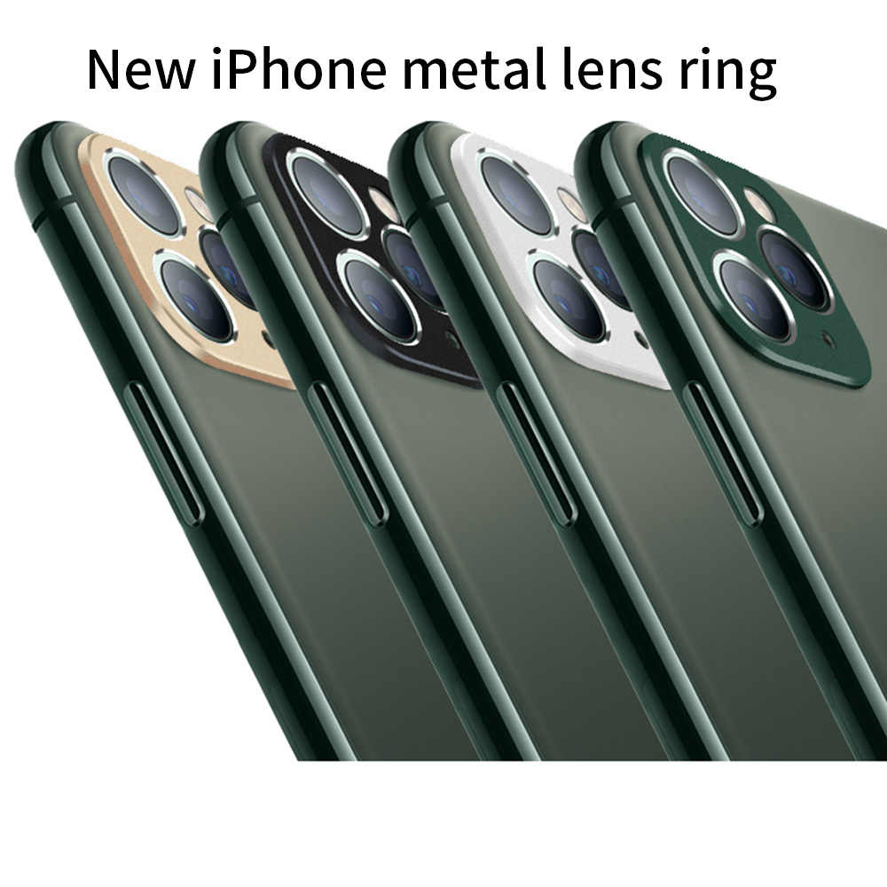 Camera Lens Protector Voor Iphone 11 Pro Max Metalen Bescherming Ring Voor Iphone 11 Iphone 11Pro Terug Camera Protector Case