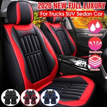 Protector Cushion Auto-Seat-Covers Front 11pcs PU for BMW/VW Suv-Truck Full-Set Deluxe