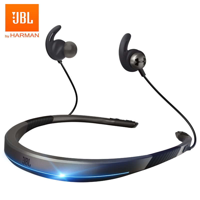 Jbl under armour true sport wireless flex bluetooth neckband headphones waterproof sports headset hifi deep bass music earphones handsfree with mic
