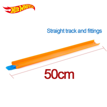 Hot Wheels 1pcs Accessories Roundabout Track kids Toys Model Plastic Miniatures assembly Track Educational Slot Car Toy BCT38