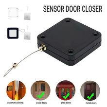 1/2/4/Set automático de puerta más cerca para todas las puertas 800g tensión Punch-puerta libre cerca de ganchos de cierre de puerta porta automatica
