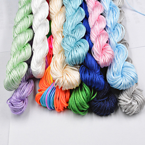 NEW 30 Colors 1.0mm 22M Nylon Cord Thread Chinese Knot Macrame Rattai Braided String DIY for Jewelry Making Bracelet&Necklace(China)