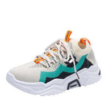 New Mixed Colors Lace-up Low-heeled sneakers Handmade Spring Summer Casual Shoes Comfortable and breathable Flat shoes цены онлайн
