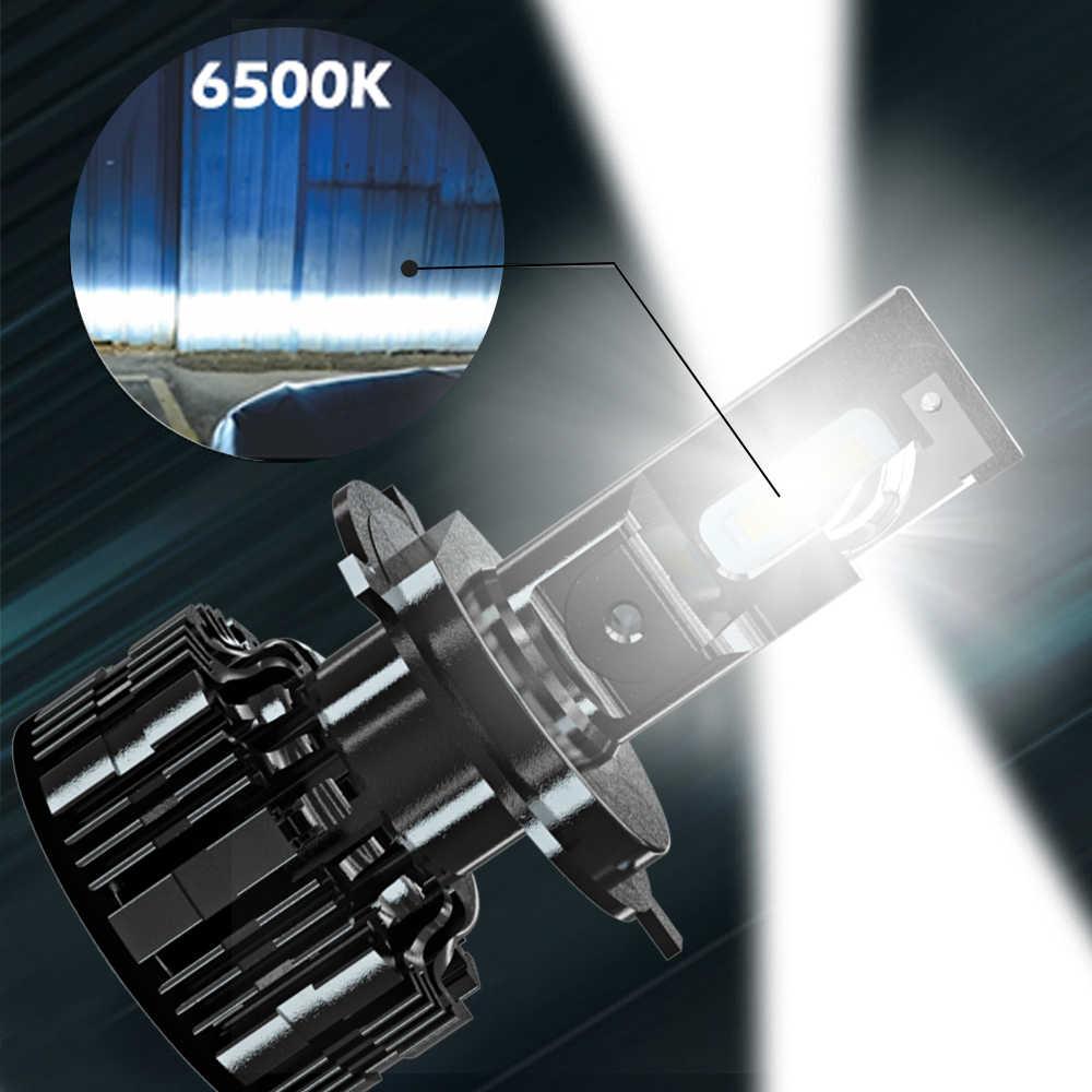 Camion Fari A Led Impermeabile Luminoso H4 H7 Lampadine H1 H3 H11 9005 9006 6500K 24V 15000Lm Bus Auto lampada frontale Con Ventole