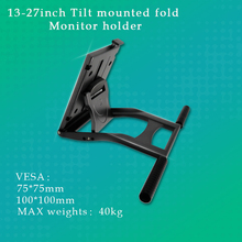 13.3-24inch Monitor Mounted LCD TV Holder TouchScreen MonitorDesk wacom DTK1661 Table Stand MAX VESA 75*75mm 100*100mm