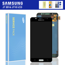 For Samsung Galaxy J7 2016 LCD J710 SM J710F J710FN J710M J710H J710A DS LCD Display Touch Screen Digitizer Assembly