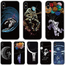 Silicone Space Astronaut Moon Cover For Wiko Y50 Y60 Y70 Y80 Lenny 5 Harry Tommy Sunny Jerry 4 View 3 Lite 2 Pro Go Phone Case talberg space pro 2