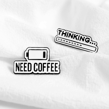 Coffee Pin Science Pin