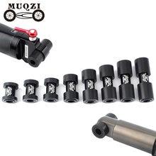 Muqzi mountain bike macio cauda absorção de choque traseiro amortecedores voltar ponto de volta gall bucha ponto de inflexão bucha