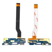 50PCS/LOT, USB charging connector flex cable For ASUS Zenfone 3 MAX ZC520TL port dock small charger board with microphone mic
