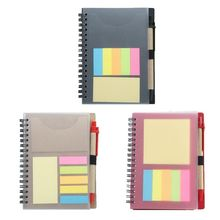 Creative Sticky Notes Notepad Kawaii Stationery Diary Notebook with Pen School H3CA