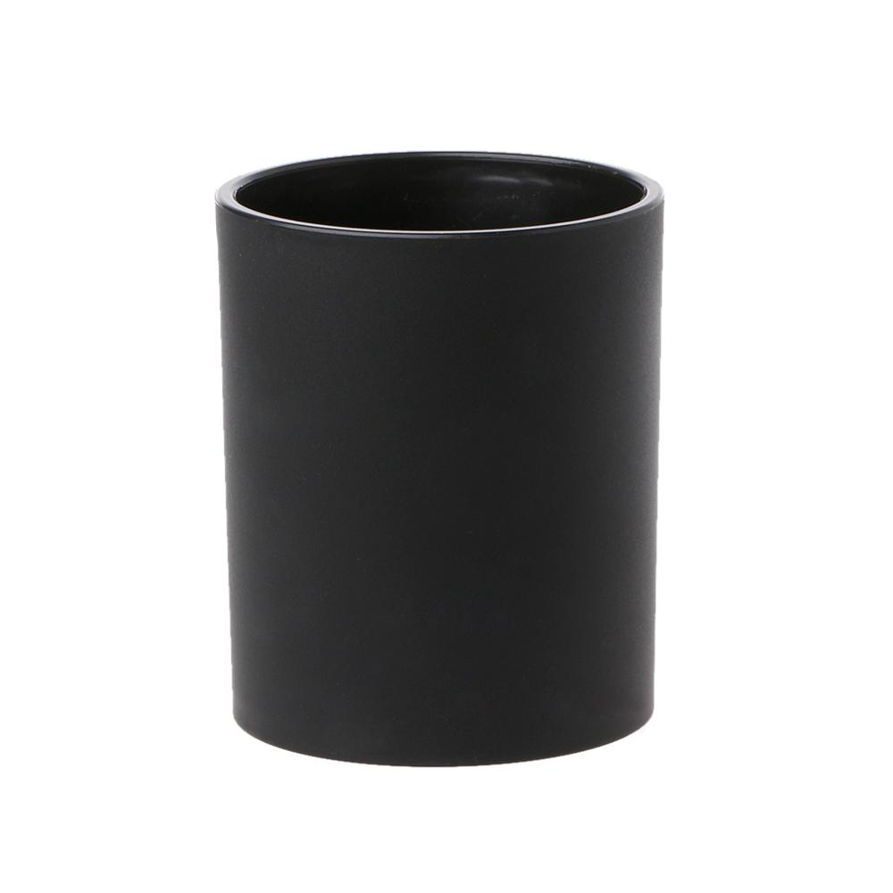 Durable Leather Ribbed Dice Cup Fish Pattern Black Gambling Casino Tool KTV Bar M5TC