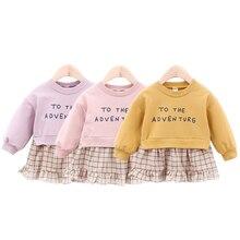 Baby Sweatshirt Dress 2019 New Spring Fall Infant Girls Clot