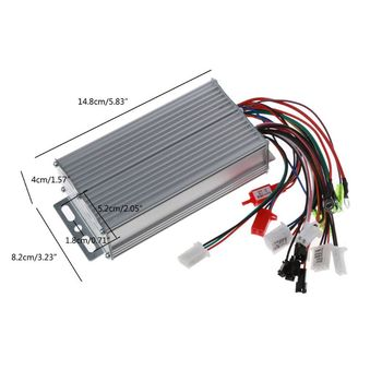 36V-48V 500W 12Pipe Wire Brushless Motor Controller for Electric Bike Tricycle 35ED image