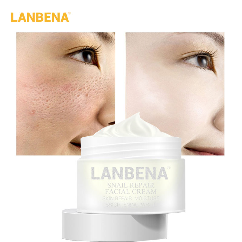 LANBENA Snail Repair Face Cream Anti-aging Anti-wrinkle Nourish Whitening And Moisturizing Acne Shrink Pores Serum Skin Care 30g