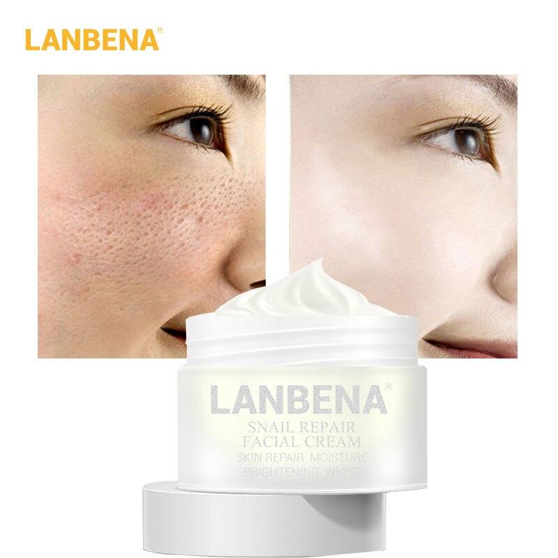 LANBENA Snail Repair Face Cream Anti-aging Anti-wrinkle Nourish Whitening And Moisturizing Acne Shrink Pores Serum Skin Care 30g