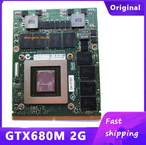 CN-020HTK 20HTK GTX680M GTX 680M VGA Video Graphic CARD For Dell Alienware M17x R4 M18X R2 2G GDDR5 N13E-GTX-A2(China)