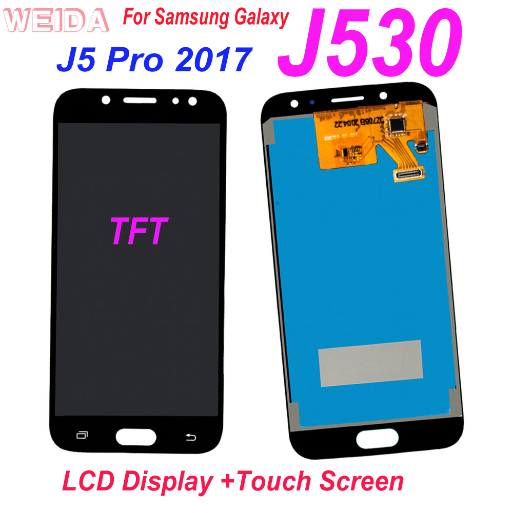 100% Tested LCD For <font><b>Samsung</b></font> <font><b>Galaxy</b></font> <font><b>J5</b></font> Pro <font><b>2017</b></font> J530 LCD <font><b>Display</b></font> Touch Screen Digitizer Assembly for <font><b>Samsung</b></font> <font><b>J5</b></font> <font><b>2017</b></font> J530F J530M image