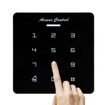 Hasło czytnik kart RFID kontrola dostępu do drzwi bezdotykowy kontroler klawiatura System z kartą identyfikacyjną kontrola dostępu do drzwi s tanie i dobre opinie 1299123