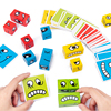 Newest Wooden toy Face change Rubik s cube building blocks for children s logical thinking training