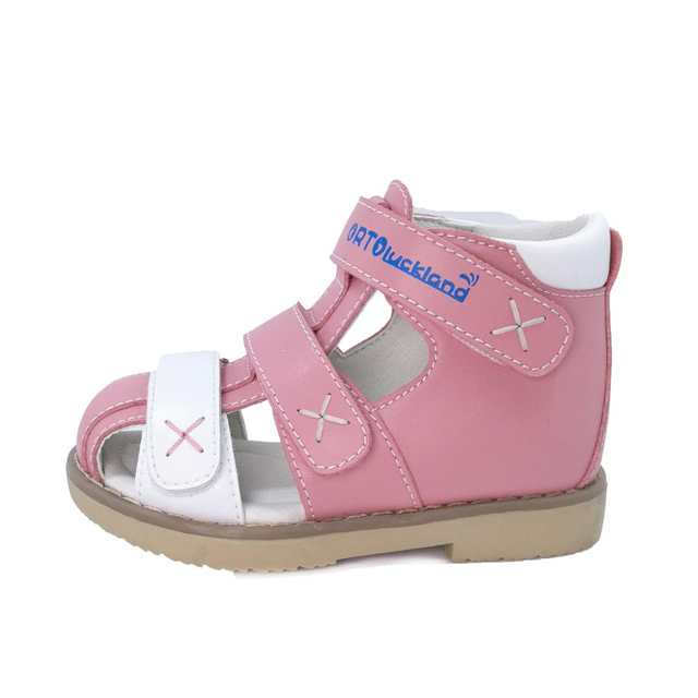 100% genuine online here official Ortoluckland Toddler Girls Orthopedic Shoes Flat Sandals For ...