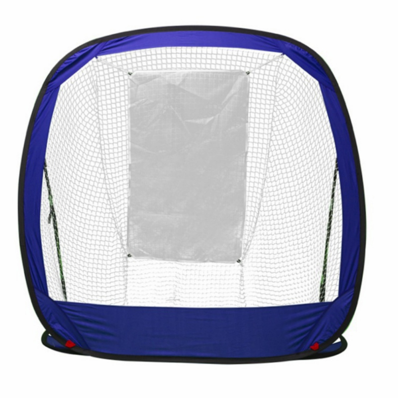 Golf Hitting Cage Foldable Durable Solid Indoor Outdoor Chipping Pitching Cages Portable Golf Practice Training Aids