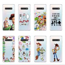 Cartoon font b Toy b font Story Buzz Woody TPU Case For Samsung S6 S7 Edge