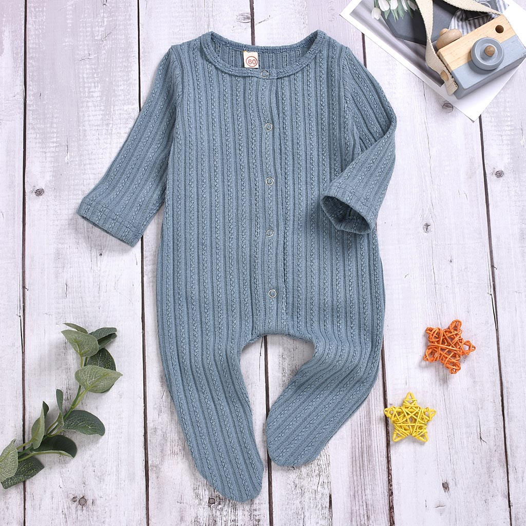 Baby Girl Clothes Boy Cotton Knitted Romper Infant Jumpsuit Autumn Outfits Costume Toddler Girls Winter Newborn