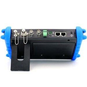 Image 2 - 7 インチ H.265 4 IP HD CCTV テスターモニター AHD CVI TVI SDI カメラテスター 8MP ケーブルスキャン ONVIF 光ファイバ VFL TDR