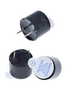New Arrival 10pcs 5v Active Buzzer Magnetic Long Continous Beep Tone 12*9.5mm