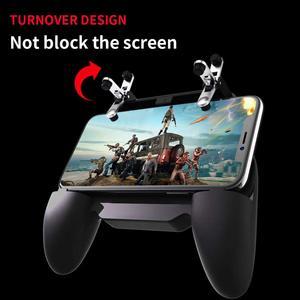 Image 5 - בקר gamepad ג ויסטיק R1 L1 Shooter joypad משחק pad Cooler מאוורר עם 2000/4000mAh כוח בנק l1r1 עבור טלפון אנדרואיד iphone