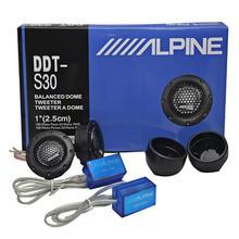 DDTS30 głośnik wysokotonowy samochodowy sprzęt Audio folia jedwabna na modyfikacja samochodu 360W 1 #8222 calowy wysokotonowy głośnik Audio samochodowy sprzęt Audio modyfikacja 2 sztuk tanie tanio Włókien z tworzyw sztucznych 315g Car High-Pitched Audio Loudspeaker General ddt-s30