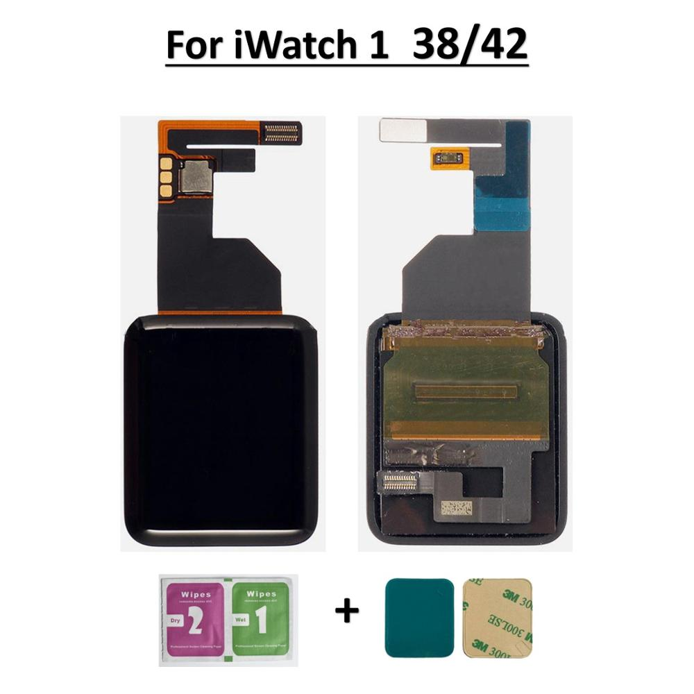 For Apple Watch1 Series 1 38mm/42mm LCD Display Touch Screen Digitizer Assembly Replacement A1802 A1803 A1553 A1554 LCDs Screen image