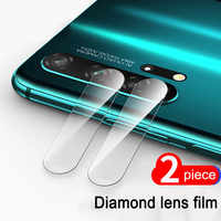 2Pcs Back Camera Lens Tempered Glass for huawei P30 P20 honor 20 lite Pro honor 10 lite 10i V20 Protector Film