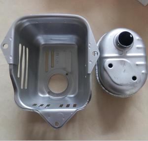 GCV160 ensemble silencieux d'échappement/couvercle convient à HONDA GCV135 GC135 GC160 protecteur RAMMER silencieux carénage inviolable chaleur HIELD ASSY