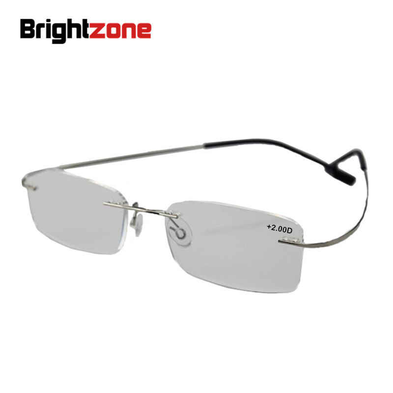 Randlose Titan Ultra licht lesebrille + 1 + 1,5 + 2 + 2,5 + 3 + 3,5 + 4 randlose ochki dlya chteniya sin montura gafas de lectura|light reading glasses|reading glassesgafas de lectura -