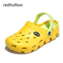 2019 Summer Men Slippers Comfort Eva Flip Flops Beach Slip on Garden Shoes Fashion Breathable Sandals Outdoor Zapatos  36-44