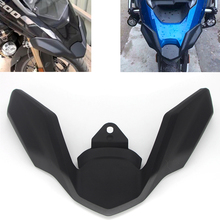 цена на Motorcycle Parts For BMW R1200GS R 1200GS LC Adventure ADV 2018 2019 R1250GS Front Fender Beak Extension Wheel Cover Cowl Black