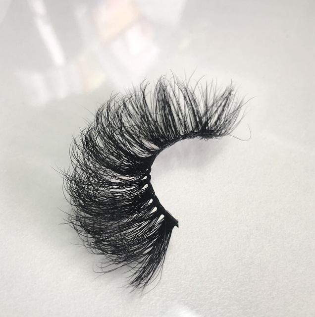 Buzzme Volume Mink Lashes Dramatic Fluffy 25mm Long Eyelashes Messy Reusable Cruelty Free Eye Lash 5