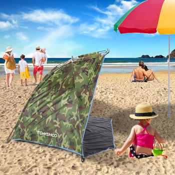 TOMSHOO Ultralight Camping Tent OutdoorBarraca Sports Sunshade Tent for Fishing Picnic Beach Park Barraca Anti-mosquito Tents 2