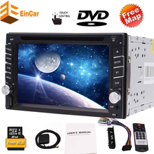 Double Din Car DVD Player 2 Din Head Unit 6.2 Touchscreen Car Radio Bluetooth Stereo GPS Navigation Map USB SD SWC Camera Video autoradio 2 din android car dvd player for mercedes benz sprinter 2006 2012 ntg gps navigation wifi map multimedia system stereo