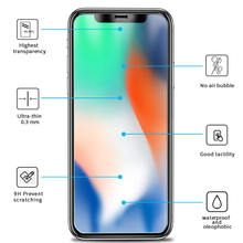 3 Pieces Tempered Glass Screen Protector Protective Glass for iPhone X iPhone XS iPhone XS Max XR 11 Pro Max 4 5 5C 6 S 7 8 Plus